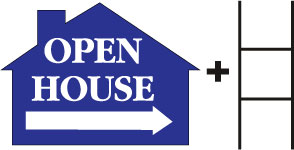 Open House House Blue print