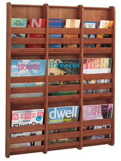 Wall Mount Magazine Organizers