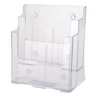 Two Tier Literature Holder