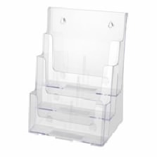 Three Tier Literature Holder