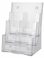 Three Tier Literature Holder w dividers