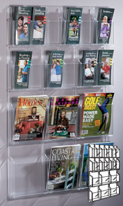 Magazine or Pamphlet Holder Acrylic