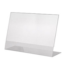 Counter Top Ad Frame A11x85 horizontal