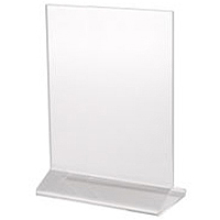 Vertical Picture Frame B 85x11 plastic