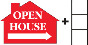 Open House-House-Red print