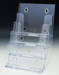 Brochure Holder tiered | Literature Holder half Fold