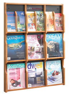 Wall Mount Literature Organizers